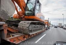 Перевозка спецтехники по СПб и России - трудности в осуществлении транспортировки