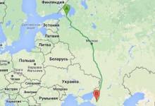 Санкт-Петербург - Краснодар