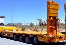 Трал для перевозки негабаритных грузов